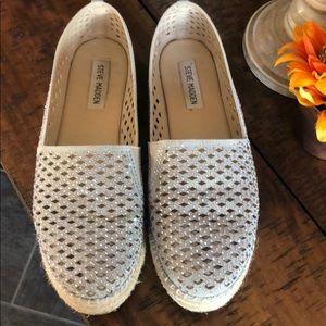 Steve Madden loafer espadrilles